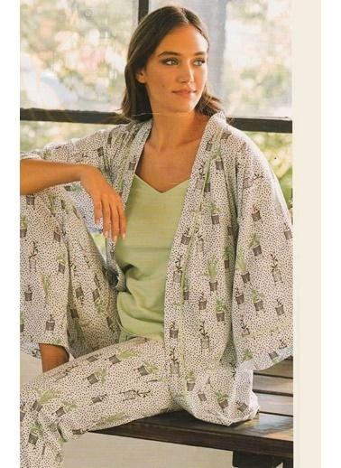 Eros Pijama Takım Yeşil